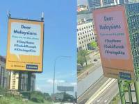 Brandlah 'nags' at citizens to stay at home with Klang Valley activation