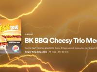 Burger King SG dishes out cheesy Spotify playlist to entice 18 to 25 year olds