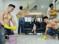 Analysis: Cleaning ad featuring topless men goes viral in SG, raises pertinent gender and societal questions