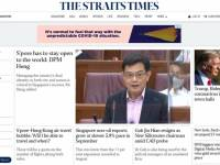 SPH revamps flagship publication The Straits Times