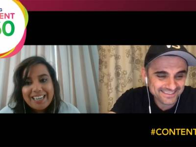 Gary Vee: 'Don't be worried about content fatigue, nobody's going to see it all'