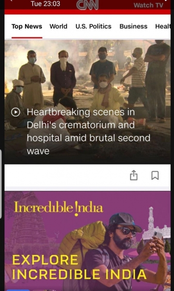 cnn incredible india brand safety