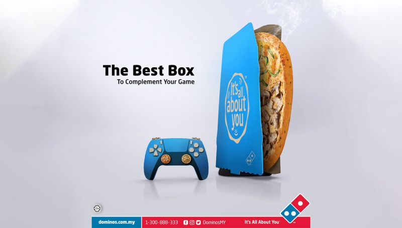 Domino S Pizza My Jumps On Ps5 Buzz Serves Up Pizza Console