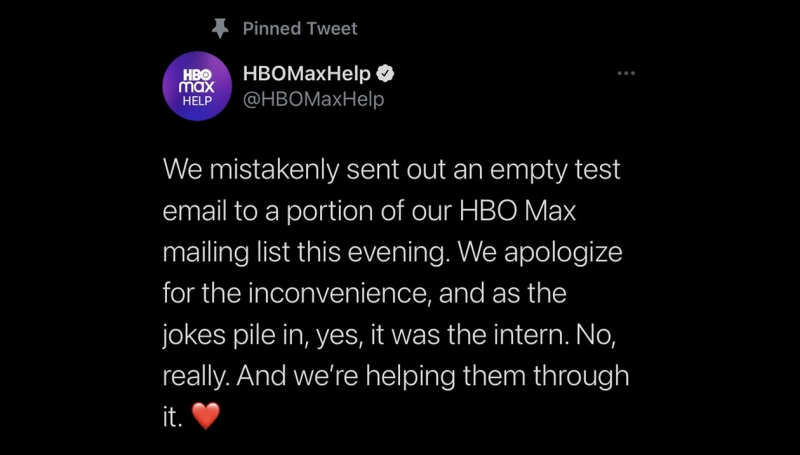 HBO Max, Microsoft Outlook