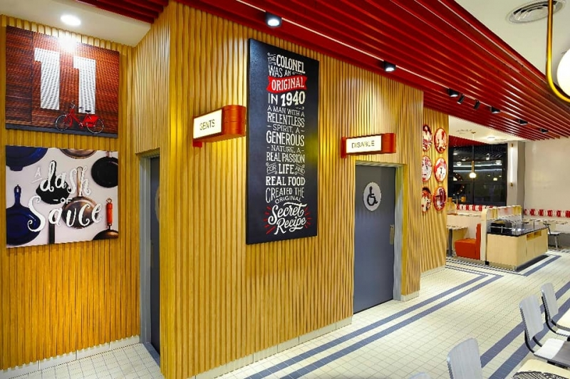 kfc retro themed outlet 4
