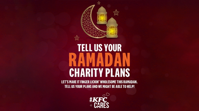 KFC SG wants to join in on consumers' intended act of kindness