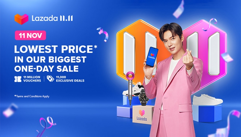Lazada Group, Lee Min Ho