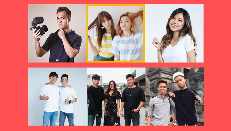 mediacorp influencers