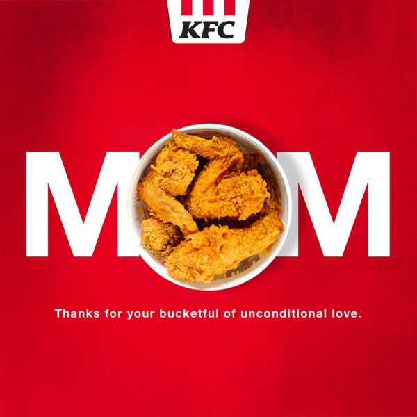 mothers day kfc