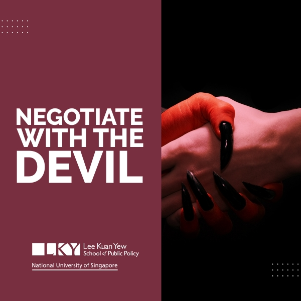 negotiate with devil
