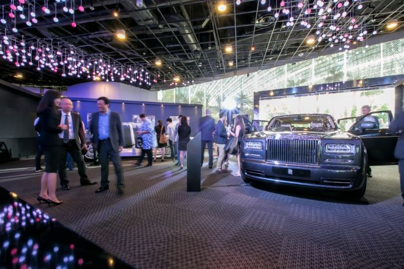 Rolls-Royce's event