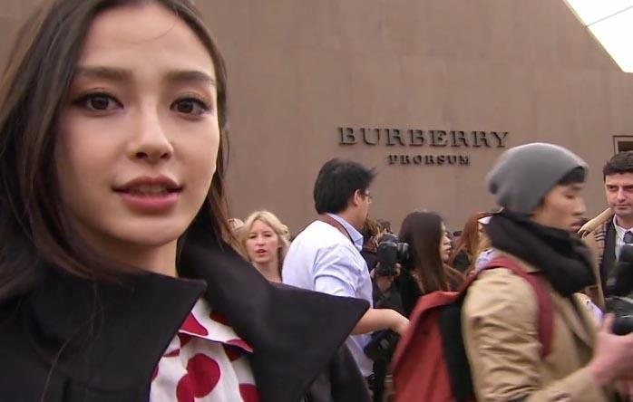 Burberry's WeChat campaign
