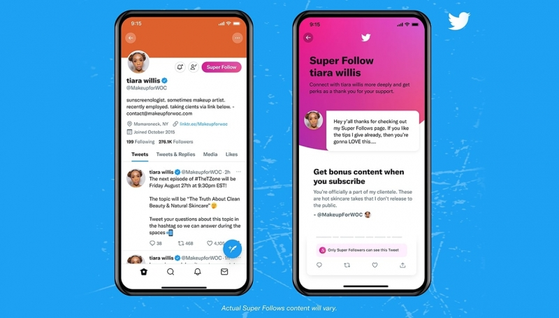 Twitter, Super Follows, policy, terms, subscription