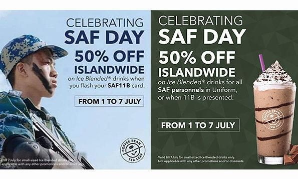 The Coffee Bean Tea Leaf Features Soldier From Wrong Army In Saf Day Promo Ad